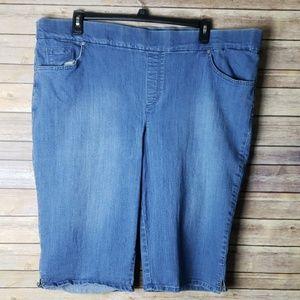 Gloria Vanderbilt Skimmer Shorts